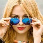 красивые стихи любимой девушке - зеркальные очки