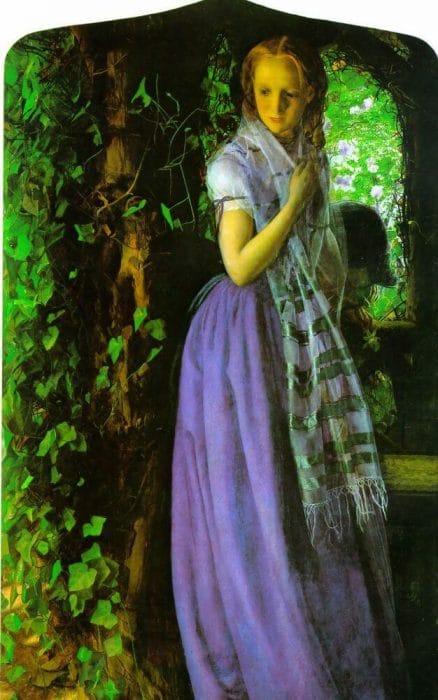 Стихи о любви - Апрельская любовь Артура Хьюза