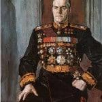 Портрет Георгия Константиновича Жукова