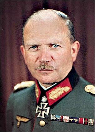 Хайнц Гудериан портрет