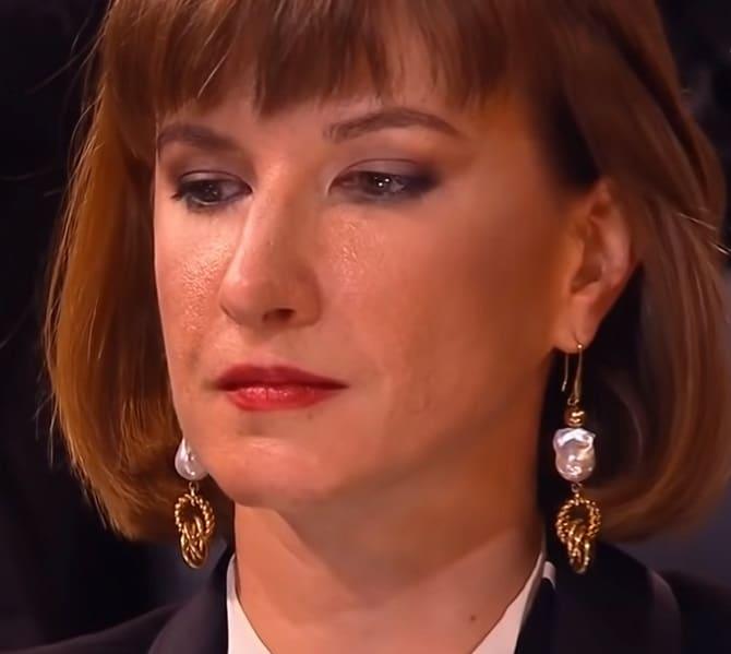 Юлия Лазарева после поражения