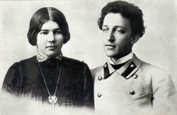 Любовь Менделеева и Александр Блок