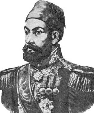 Портрет Осман-паши