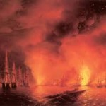 """Синопской сражение - И. К. Айвазовский. """"Синопский бой 1853 года"""""""