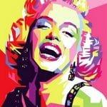 смешные цитаты - улыбающаяся Мерилин Монро